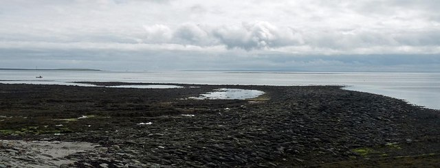 The Danes' Pier, Lamb  Ness, Stronsay, Orkney
