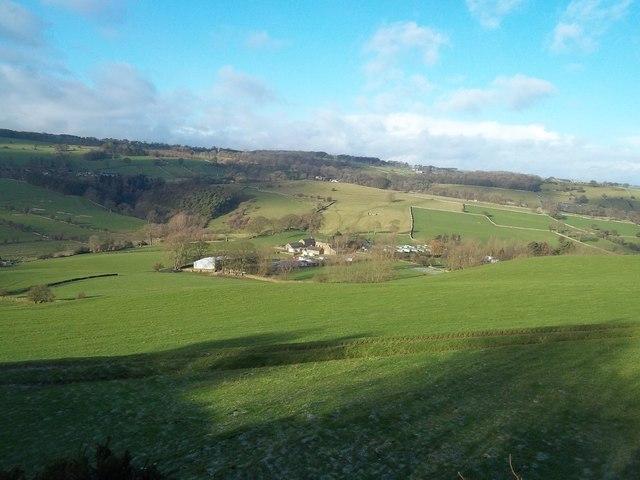 View Towards Hopping Farm near Middleton