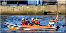 "J3474 : Lagan Rescue boat ""Dove"", Belfast (January 2015) by Albert Bridge"