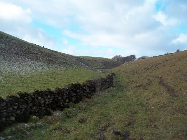 Dry Stone Walls in Long Dale