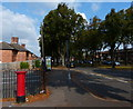 SK6104 : Postbox along Coleman Road in North Evington by Mat Fascione