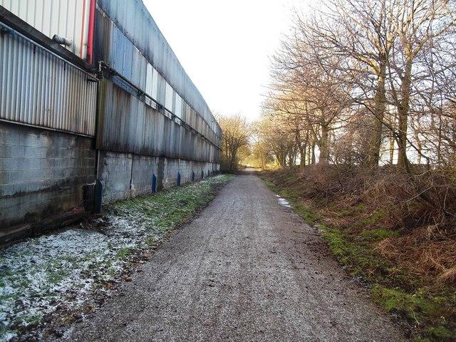 The High Peak Trail at Friden Brick Works