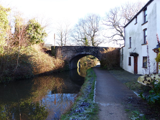 """Bridge 65"" on the Monmouthshire and Brecon Canal"