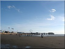 SD3036 : Blackpool Beach by Stephen Armstrong