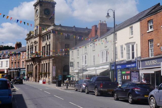 Welshpool Town Hall