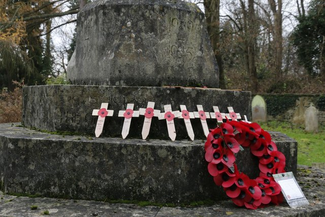 Wreath on the Memorial
