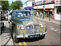 SJ9494 : Classic Car on Market Place by Gerald England