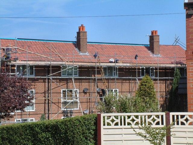 Roofers on Backbower Lane