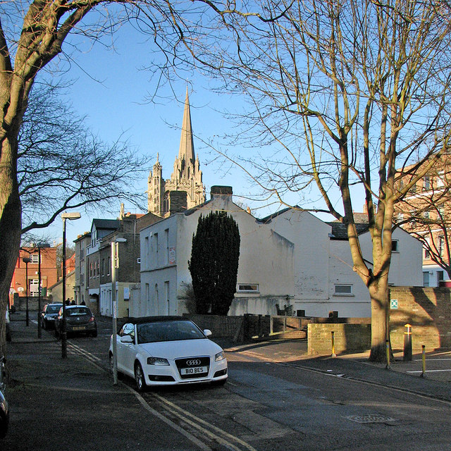 George IV Street in January
