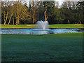TQ0486 : Fountain, Buckinghamshire Golf Club by Alan Hunt