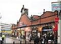 TQ2378 : Hammersmith (Met) underground station, London by Nigel Thompson
