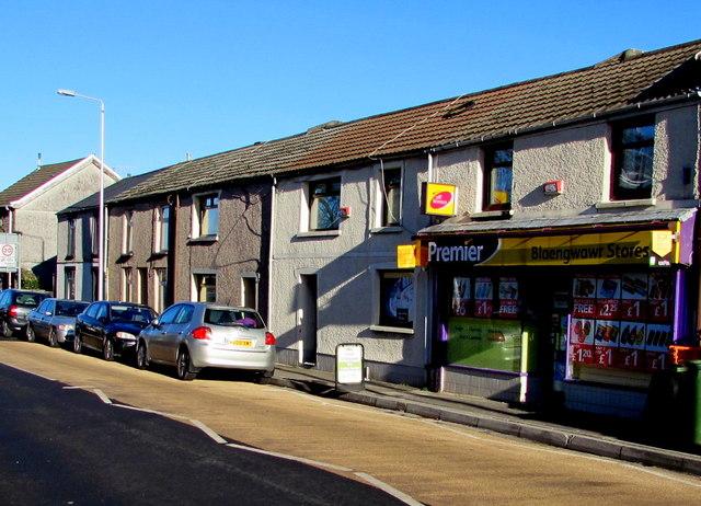 Blaengwawr Stores, Aberdare