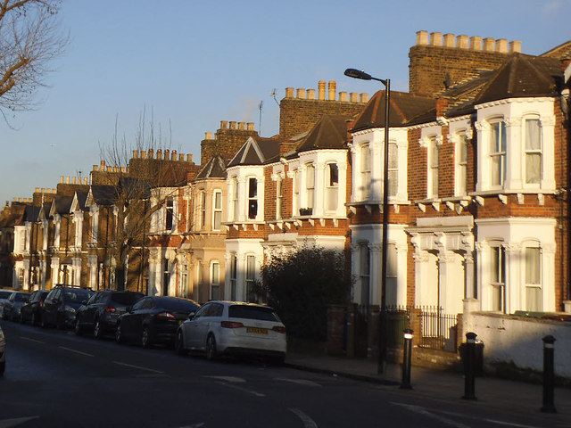 Terraced houses, Athenlay Road