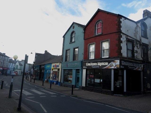 Shops, Market Street, Dalton-in-Furness