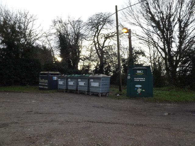 Dennington Recycling Bins