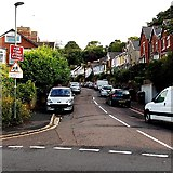 SX9064 : Junction of Mallock Road and Sherwell Hill in Torquay by Jaggery
