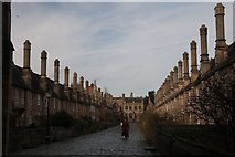 ST5545 : Vicars' Close, Wells Cathedral by Becky Williamson