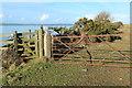 NX0863 : Kissing Gate on the Lochryan Coastal Path by Billy McCrorie