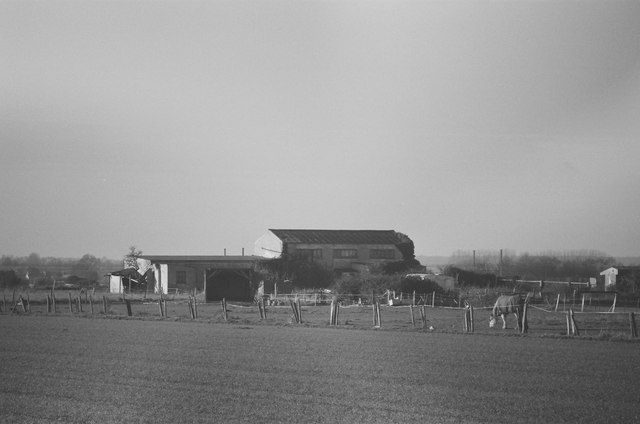 Farm buildings on the edge of Biggleswade