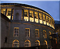 SJ8397 : The library and a controversially closed right of way to the right by Ian Greig