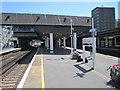 TQ2841 : Gatwick Airport railway station, Sussex by Nigel Thompson