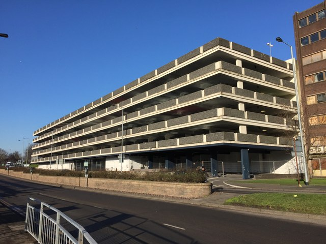 Newcastle-under-Lyme: Midway multi-storey car park