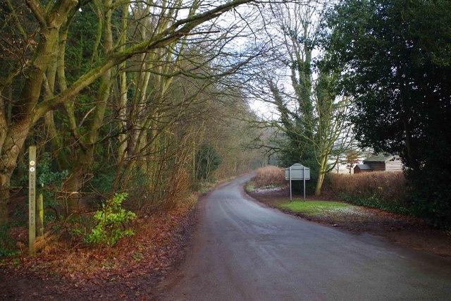 Blakeshall Lane, Blakeshall, Worcs