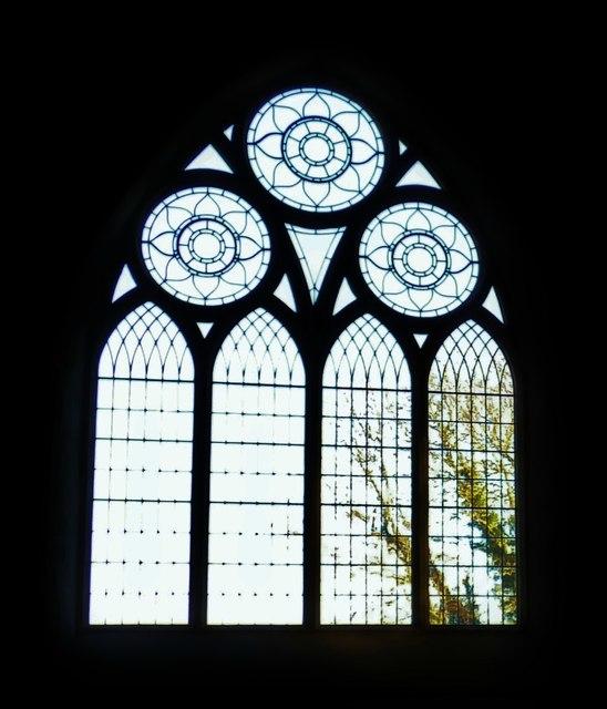 South chapel east window, All Saints, Icklesham