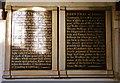 TQ8816 : Charity boards, All Saints, Icklesham by nick macneill