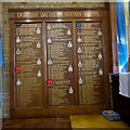 TQ4160 : Some of The Few commemorated at the Biggin Hill Battle of Britain Memorial Chapel by Peter Skynner