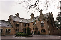 SK2572 : Baslow Hall (2) by Peter Barr