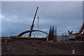 SD4764 : Bridge construction, Lancaster Canal by Ian Taylor