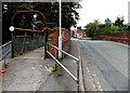 SJ2929 : Eastern end of parallel Middleton Road bridges in Oswestry by Jaggery
