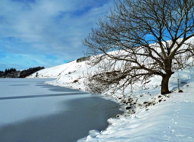 Winter at Glenbuck Loch