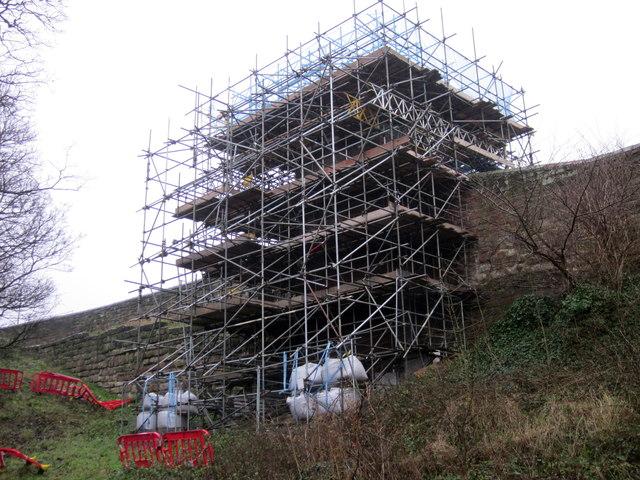 Pemberton's Parlour under Renovation