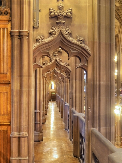 Gallery Above The Reading Room, John Rylands Library