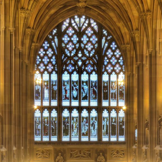 John Rylands Library, The Biblical Window