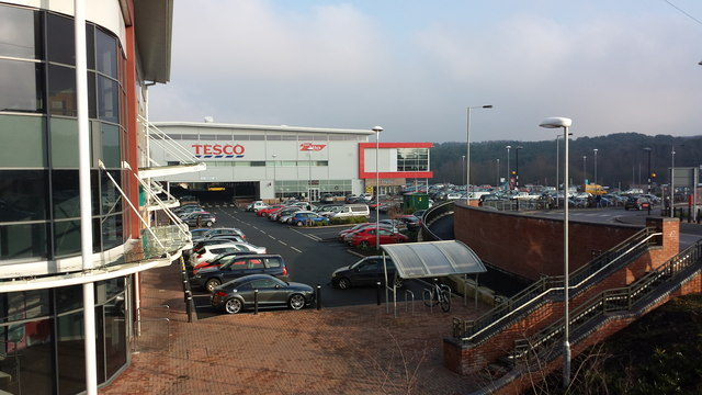The new Tesco development, Hednesford