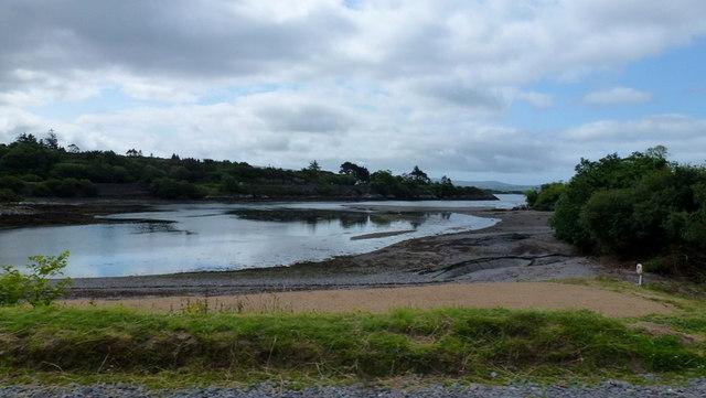The Coomhola estuary, 2