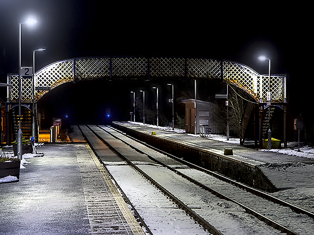 Lairg station