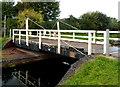 ST3035 : Crossways swing bridge, Bridgwater by Jaggery