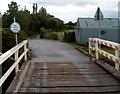 ST3035 : Private road on the NE side of Crossways swing bridge, Bridgwater by Jaggery