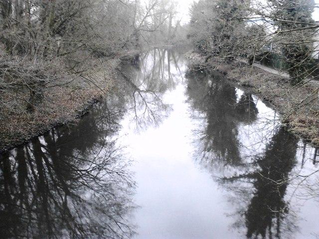 River Colne nr. Uxbridge - winter time
