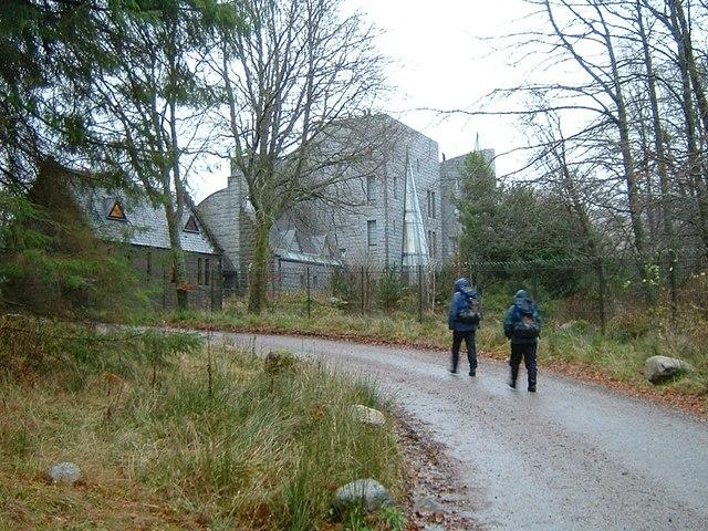 Corrour Lodge, Loch Ossian