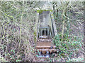 SD5203 : Sluice at Sand Brook, Billinge Higher End by Gary Rogers
