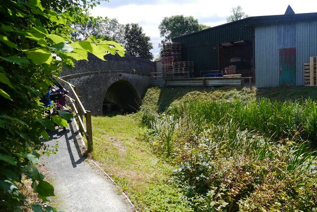 Montgomery Canal at Garthmyl, north of bridge 131