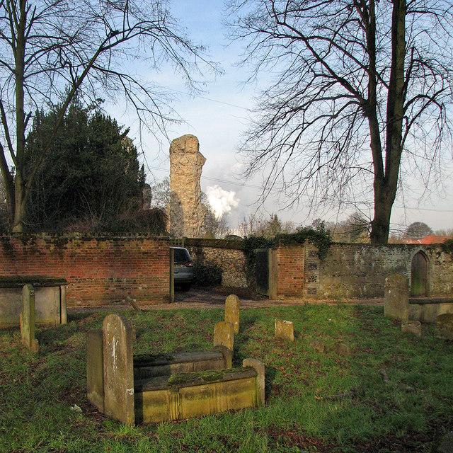 In St Mary's Churchyard
