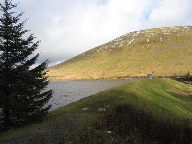 Beacons Reservoir dam