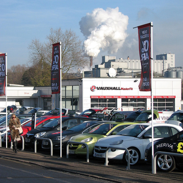Bury St Edmunds: selling cars and refining sugar