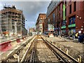 SJ8498 : Metrolink Second City Crossing Construction - Corporation Street by David Dixon